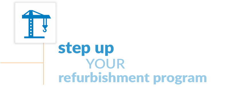 Step up your refurb
